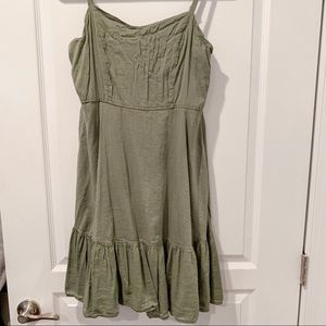 Army Green lightweight Old Navy Cami Dress
